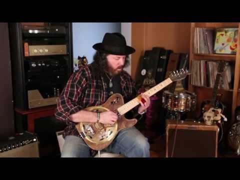 "Kochel Guitars ""T""  style electric resonator"