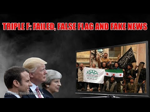 😂 US-led Syria strikes: Triple F ( Failed, False Flag and Fake News)