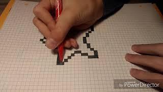 Petit pixel art la fée de link (zelda) surprise a la fin
