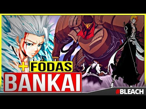 BLEACH: Top 10 BANKAI mais Épicos do Anime | Canal TOP 10 🙌