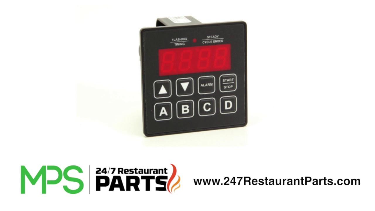 BKI TI0032 230-volt Digital 4 Button Timer