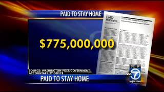 Tens of thousands of federal workers paid to stay home