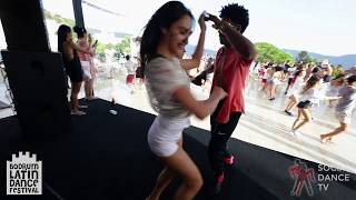 Gaby & Estefy & Melisa - Salsa Dancing | Bodrum Latin Dance Festival 2018
