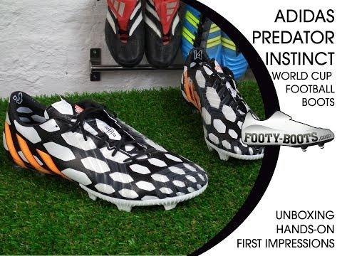 adidas Predator Instinct Battle Pack - World Cup Football Boots | Unboxing, Hands-on