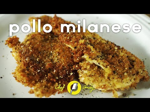 Perfect Panko Chicken Recipe // Chef Andy