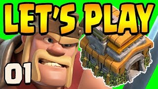 How to Start TH7 | TH7 Let's Play ep1 | Clash of Clans