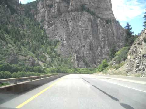 Highway 70 thru Colorado Rockies