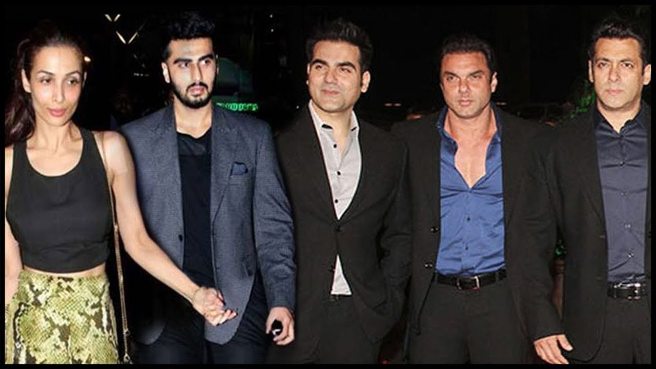 Arjun Kapoor And Malaika Arora ACT Strangers In Front Of KHAN Brothers!