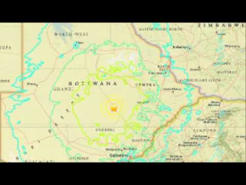 BREAKING  Botswana rocked by ANOTHER earthquake