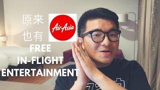 Video 原来AIRASIA也是有FREE IN-FLIGHT ENTERTAINMENT?! 坐了那么多次现在才知道.. 【AndrewTheMan TV】 download MP3, 3GP, MP4, WEBM, AVI, FLV Juli 2018