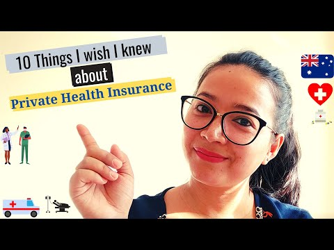 10 Things I Wish I Knew About Private Health Insurance I Overseas Students & TR Holders I Australia