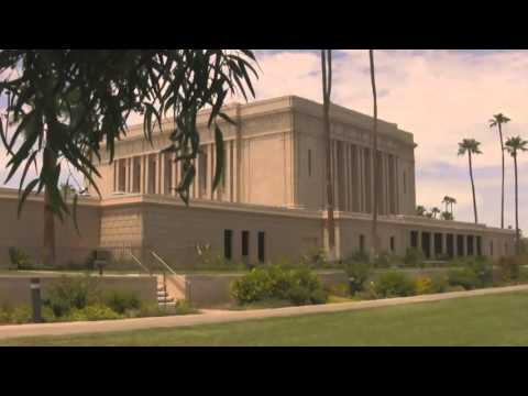 The Mesa Arizona Temple HD)  Mormon Temples