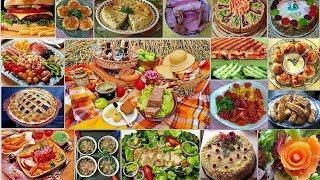 Национальные блюда #4 Сочное и аппетитное видео с хорошей музыкой!!!