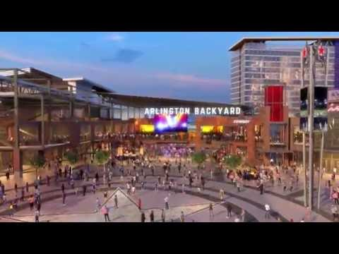 Texas Live!  Fly-Through