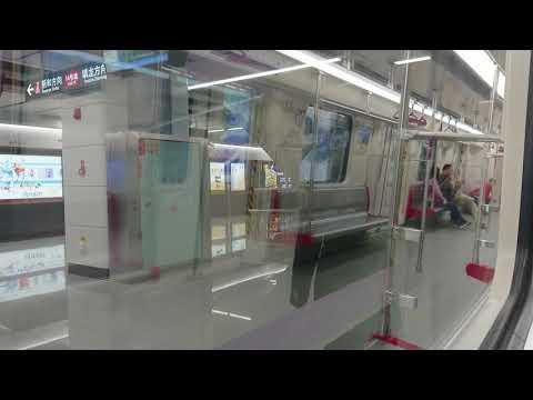 廣州地鐵14號線 - 新和站 → 鎮龍站