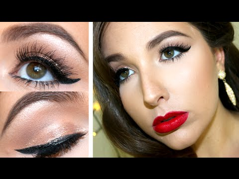 Old Hollywood Glam Makeup Tutorial New Years Eve