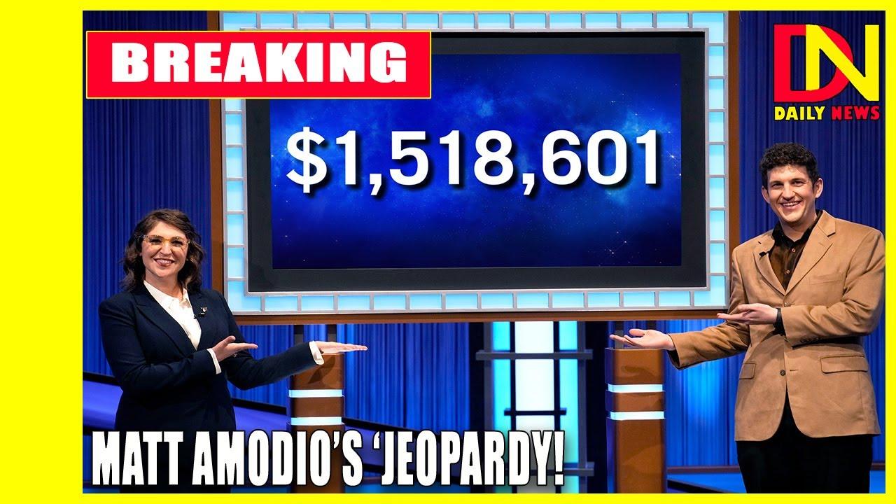 This 'Jeopardy!' question ended Matt Amodio's winning streak