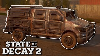 BUILDING ARMORED CARS! - State of Decay 2 Gameplay - Zombie Apocalypse survival game