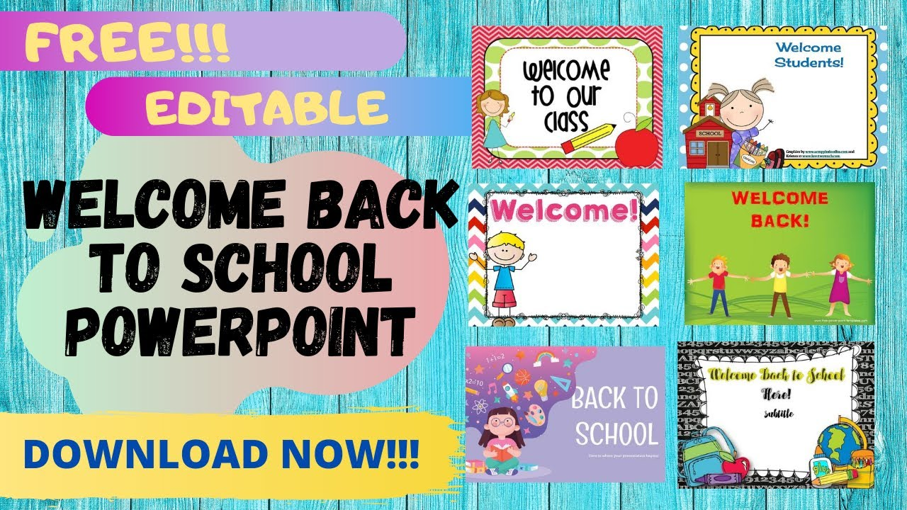 Welcome Back Template from i.ytimg.com