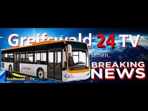 LINIE 2 - STADTRUNDFAHRT DURCH GREIFSWALD 2016