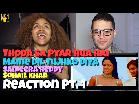 Thoda Sa Pyar Hua Hai - Maine Dil Tujhko Diya Reaction Pt.1