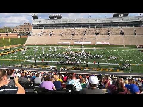 Francis Howell Central high school marching band's Mizzou competition