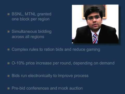 India 3G Auction