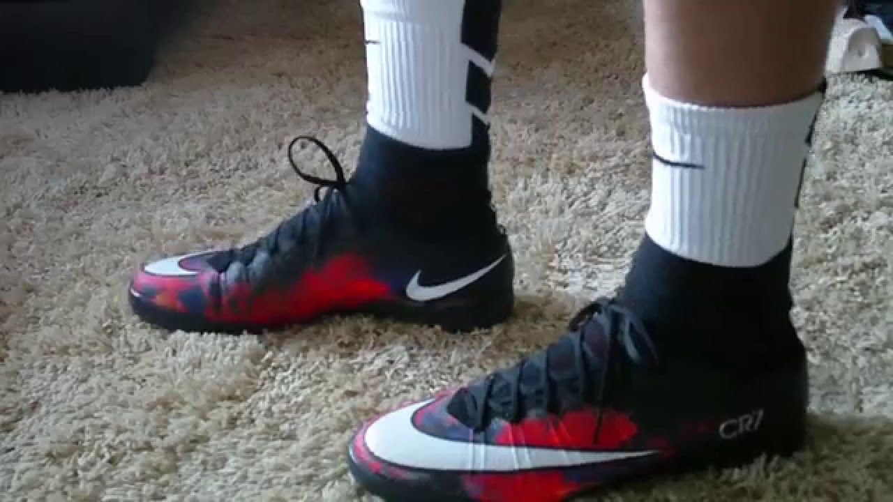eb35537a669 ... coupon code cr7 savage beauty nike mercurialx superfly proximo ic  unboxing on feet youtube 8e54b c6bbc