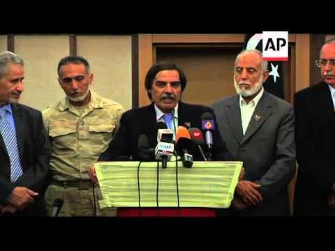Rebel NTC announces work to begin in a ''free Tripoli''