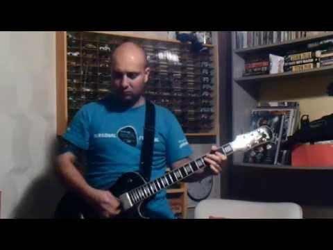Aerosmith - Lightning Strikes Guitar Cover