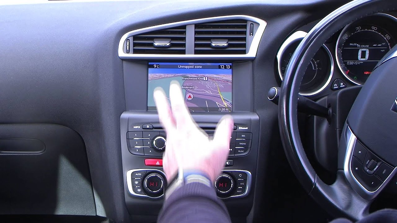 How to set the sat nav in a 2012 12 citroen ds4 2 0 hdi d sport how to set the sat nav in a 2012 12 citroen ds4 2 0 hdi d sport youtube vanachro Image collections