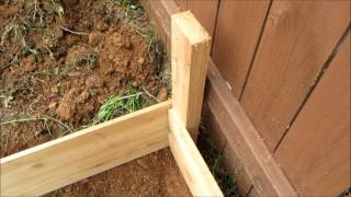 Multiple Tier Cedar Fence Board Raised Bed