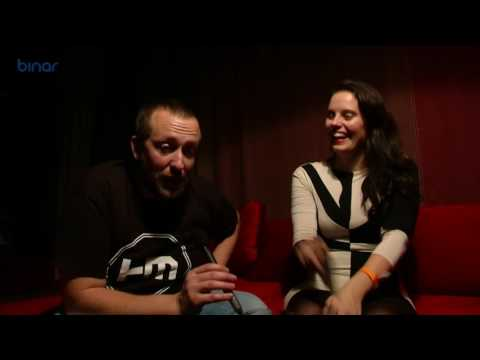 BCee & Riya interview at Drum'n'Jazz 2014 at Sofia, Bulgaria