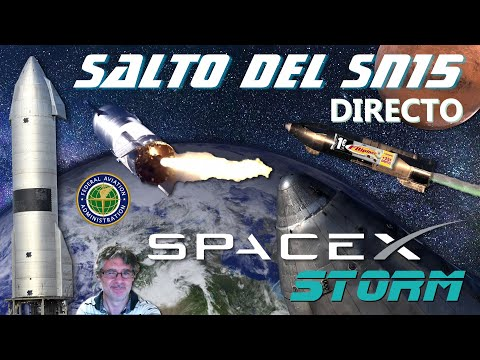 Salto del prototipo de Starship SN15 de SpaceX! 🚀