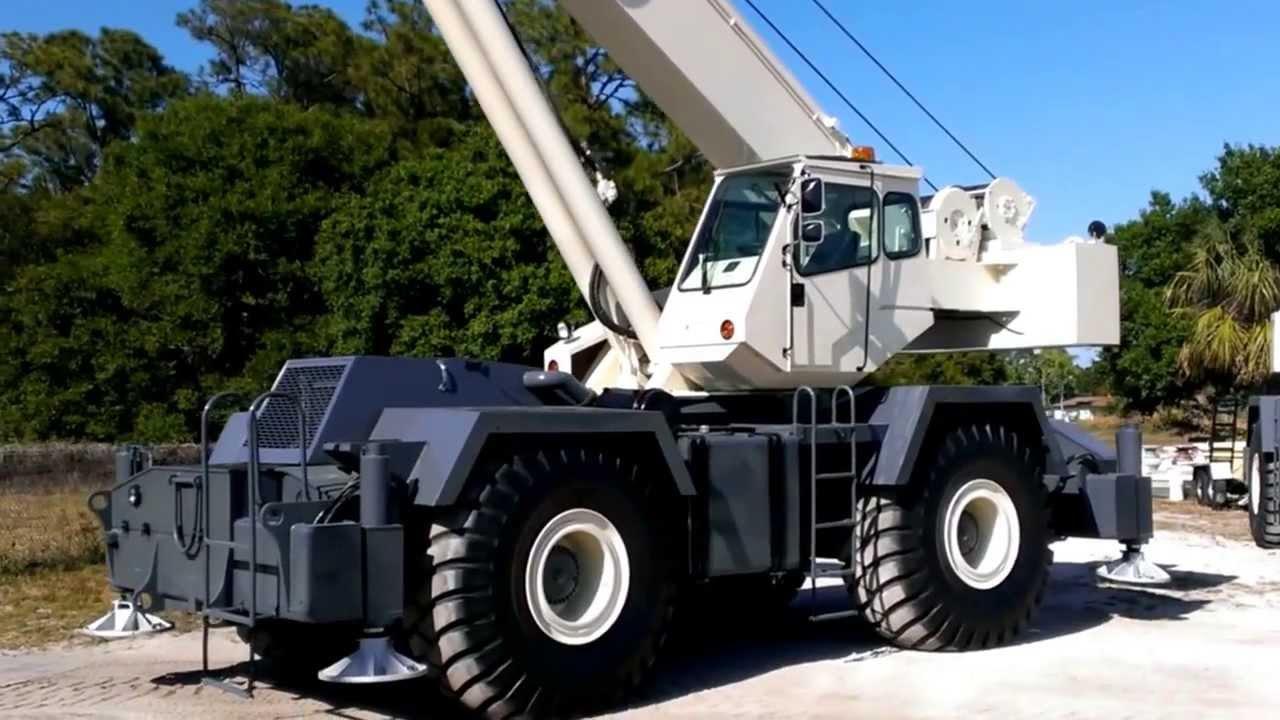 2001 terex rt175 75 ton rt 1 youtube rh youtube com Terex Cranes RT Crane