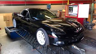 How much HP does the drift Corvette make?  Dyno time!