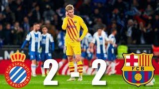 Espanyol vs Barcelona [2-2], La Liga 2020 - MATCH REVIEW