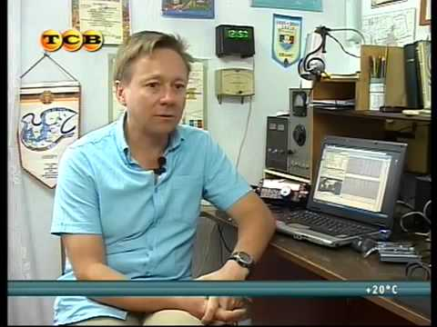 T10VB  Transnistria UA4WHX Interview with a local Transnistria TV Channel