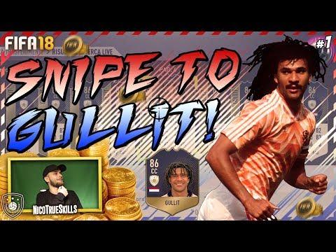 100K CREDITI DA TRIPLICARE GRAZIE AL TOTY! | SNIPE TO GULLIT #1 - FIFA 18