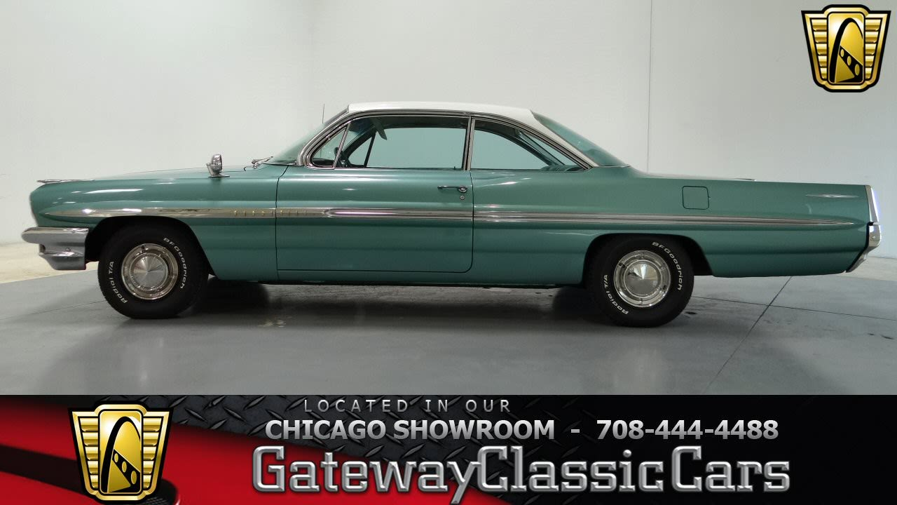 1961 Pontiac Bonneville Gateway Classic Cars Chicago 719   YouTube