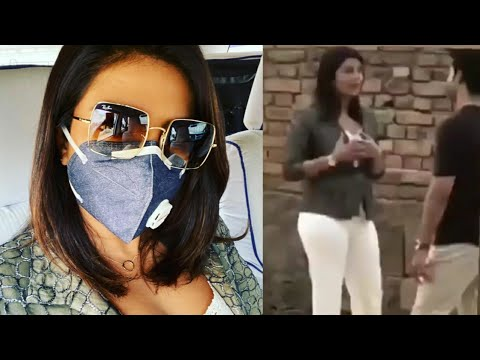 Priyanka Chopra In Delhi For Her Upcoming Project The White Tiger | Priyanka Chopra on Sets Mp3