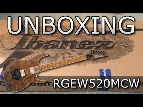 ibanez rgew520mcw ntf electric guitar unboxing youtube. Black Bedroom Furniture Sets. Home Design Ideas