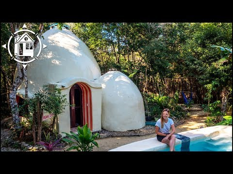 Eco-Friendly Dome Home is Mexican Architect's Dream of Green Tourism