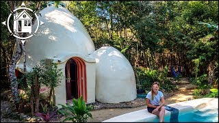 Dome Home In Mexico Is Architect's Dream Of Eco Tourism