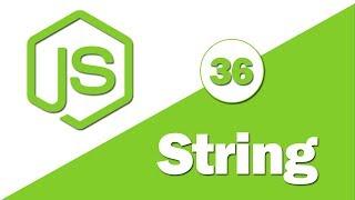 36 - ( JavaScript Tutorial ) String Methods: split, trim