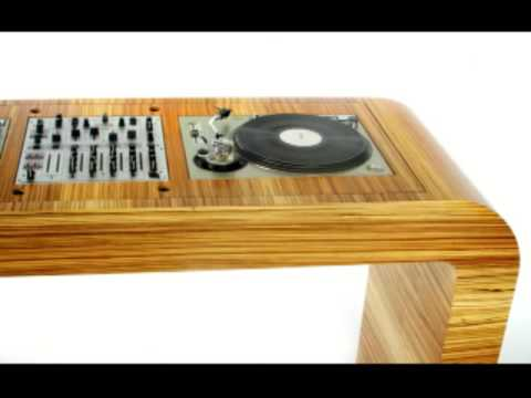 hoerboard dj furniture dj table dj workstation dj booth. Black Bedroom Furniture Sets. Home Design Ideas