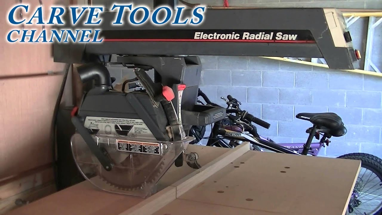 Craftsman Electronic Radial Arm Saw Reviews