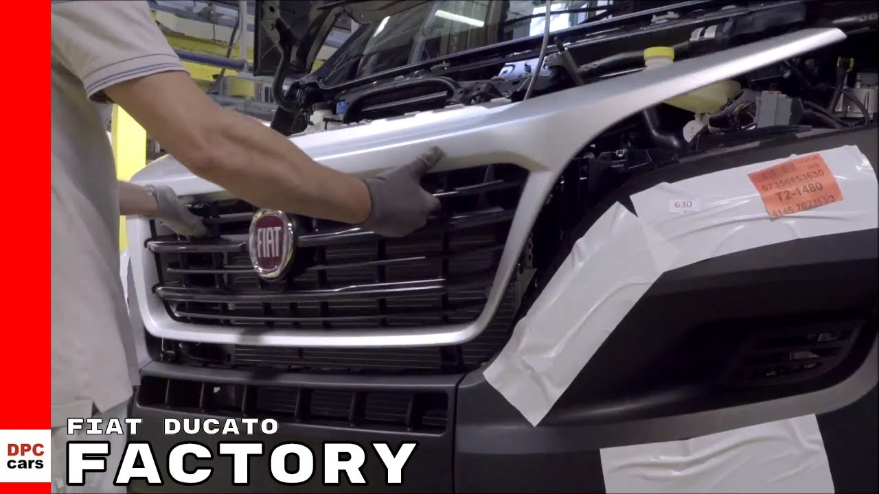 Fiat Ducato Factory Youtube