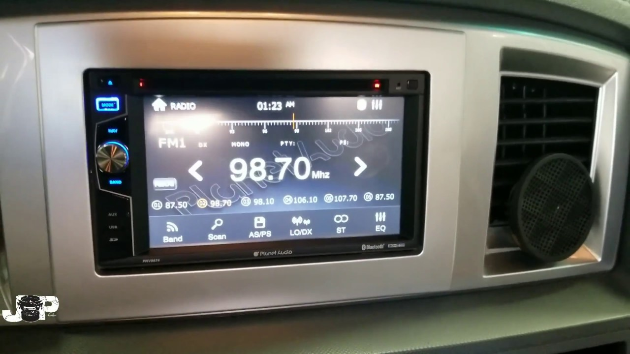 2007 dodge ram radio removal install [ 1280 x 720 Pixel ]