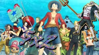 aventura bajo el mar isla gyojin   one piece pirate warriors 3 5x2